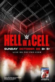 WWE Hell In a Cell - 2014 - Poster / Capa / Cartaz - Oficial 1