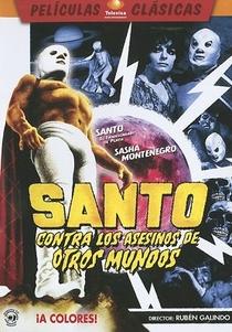 Santo versus Los Asesinos de Otros Mundos - Poster / Capa / Cartaz - Oficial 1