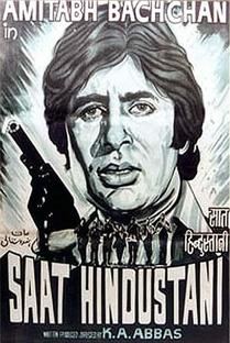 Saat Hindustani - Sete Indianos - Poster / Capa / Cartaz - Oficial 1