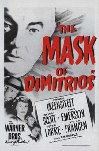 A Máscara de Dimitrios - Poster / Capa / Cartaz - Oficial 1