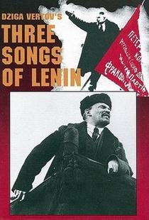Três Canções Para Lênin - Poster / Capa / Cartaz - Oficial 1