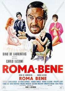 Roma bene - Poster / Capa / Cartaz - Oficial 1