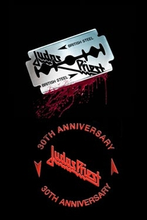 Judas Priest ‎– British Steel - 30th Anniversary - Poster / Capa / Cartaz - Oficial 1