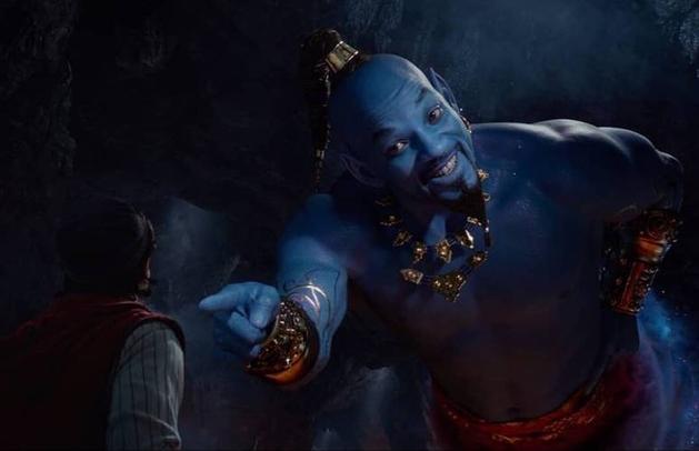 Gênio aparece pela primeira vez em teaser de Aladdin, confira!