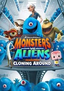 Monstros vs. Alienígenas (1ª Temporada) - Poster / Capa / Cartaz - Oficial 2