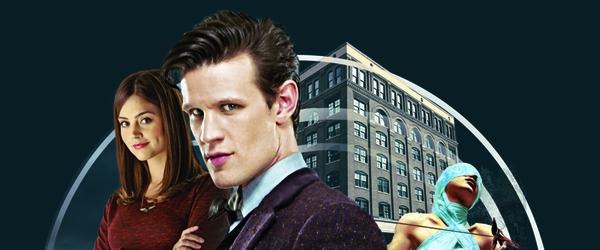 """Lançamento de """"Doctor Who – Mortalha da Lamentação"""" em São Paulo"""
