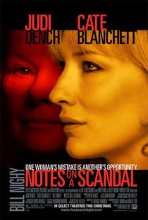 Notas Sobre um Escândalo - Poster / Capa / Cartaz - Oficial 2