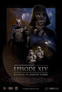 Batman vs Darth Vader - Poster / Capa / Cartaz - Oficial 1