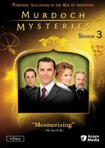 Os Mistérios do Detetive Murdoch (3ª temporada) - Poster / Capa / Cartaz - Oficial 1