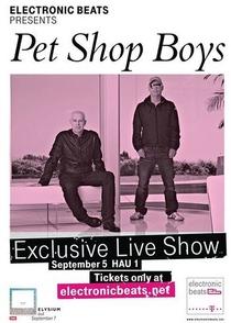 Pet Shop Boys - Live in Berlin - Poster / Capa / Cartaz - Oficial 1