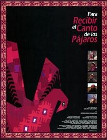 Para Receber o Canto dos Pássaros - Poster / Capa / Cartaz - Oficial 1