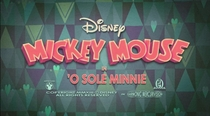 O Sole Minnie - Poster / Capa / Cartaz - Oficial 2
