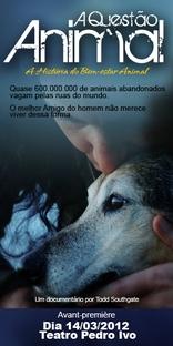 A Questão Animal - Poster / Capa / Cartaz - Oficial 1