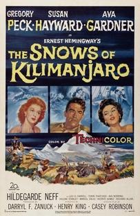 As Neves do Kilimanjaro - Poster / Capa / Cartaz - Oficial 1