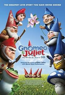Gnomeu e Julieta - Poster / Capa / Cartaz - Oficial 1