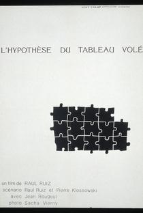 A Hipótese do Quadro Roubado - Poster / Capa / Cartaz - Oficial 2