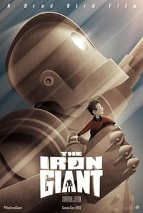O Gigante de Ferro - Poster / Capa / Cartaz - Oficial 2