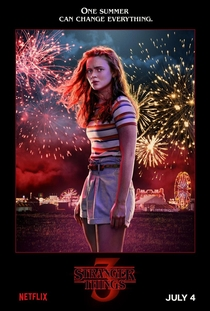 Stranger Things (3ª Temporada) - Poster / Capa / Cartaz - Oficial 15