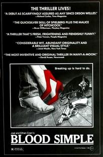 Gosto de Sangue - Poster / Capa / Cartaz - Oficial 1