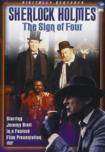 O Signo dos Quatro - Poster / Capa / Cartaz - Oficial 6