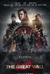 A Grande Muralha - Poster / Capa / Cartaz - Oficial 1
