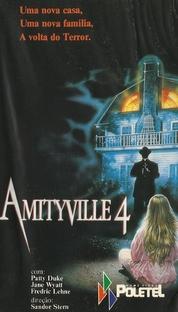 Amityville 4 - A Fuga do Mal - Poster / Capa / Cartaz - Oficial 2