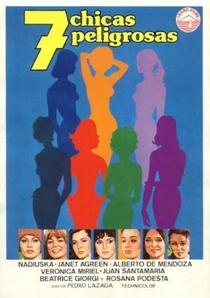 7 Chicas Peligrosas - Poster / Capa / Cartaz - Oficial 1