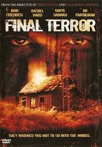 The Final Terror - Poster / Capa / Cartaz - Oficial 2