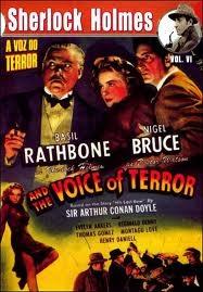 Sherlock Holmes e a Voz do Terror - Poster / Capa / Cartaz - Oficial 2