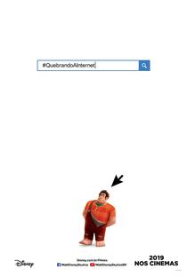 WiFi Ralph: Quebrando a Internet - Poster / Capa / Cartaz - Oficial 6