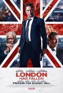Invasão a Londres - Poster / Capa / Cartaz - Oficial 1