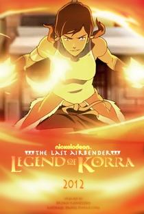 A Lenda de Korra (1ª Temporada) - Poster / Capa / Cartaz - Oficial 4