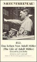 A Vida de Adolf Hitler - Poster / Capa / Cartaz - Oficial 1
