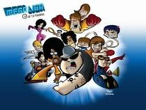 Megaliga MTV de VJs Paladinos (1ª temporada) - Poster / Capa / Cartaz - Oficial 2