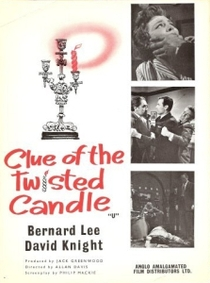 Clue of the Twisted Candle - Poster / Capa / Cartaz - Oficial 1