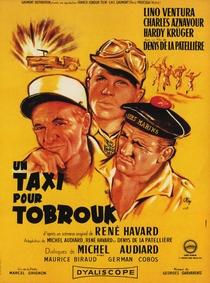 Um Táxi Para Tobruk - Poster / Capa / Cartaz - Oficial 1