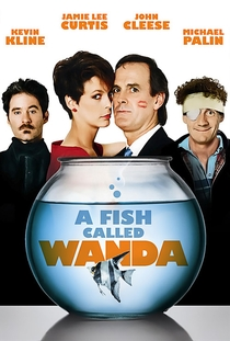 Um Peixe Chamado Wanda - Poster / Capa / Cartaz - Oficial 2