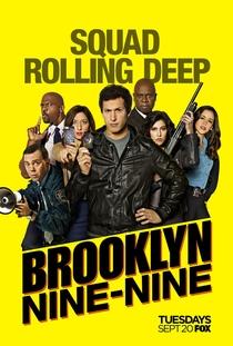 Brooklyn Nine-Nine (4ª Temporada) - Poster / Capa / Cartaz - Oficial 1