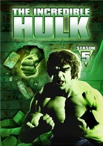 O Incrível Hulk (5ª Temporada) - Poster / Capa / Cartaz - Oficial 1