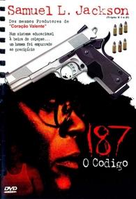 187 - O Código - Poster / Capa / Cartaz - Oficial 1