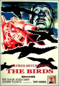 Os Pássaros - Poster / Capa / Cartaz - Oficial 6
