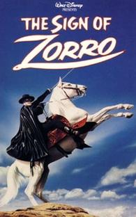 O Signo do Zorro - Poster / Capa / Cartaz - Oficial 1