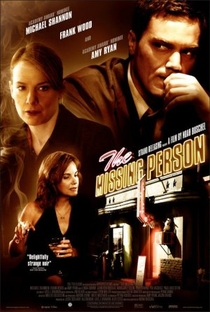 The Missing Person - Poster / Capa / Cartaz - Oficial 1