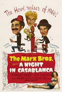 Uma Noite em Casablanca - Poster / Capa / Cartaz - Oficial 4
