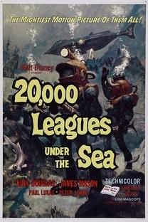 20.000 Léguas Submarinas - Poster / Capa / Cartaz - Oficial 3