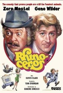 Os Rinocerontes - Poster / Capa / Cartaz - Oficial 1