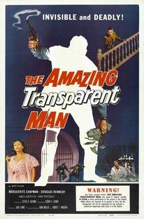 O Incrível Homem Transparente - Poster / Capa / Cartaz - Oficial 1