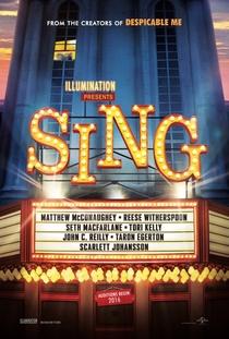 Sing - Quem Canta Seus Males Espanta - Poster / Capa / Cartaz - Oficial 1