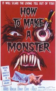 How to Make a Monster - Poster / Capa / Cartaz - Oficial 1