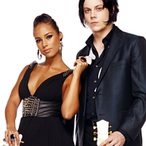 """Jack White & Alicia Keys - """"Another Way to Die"""" - Poster / Capa / Cartaz - Oficial 1"""